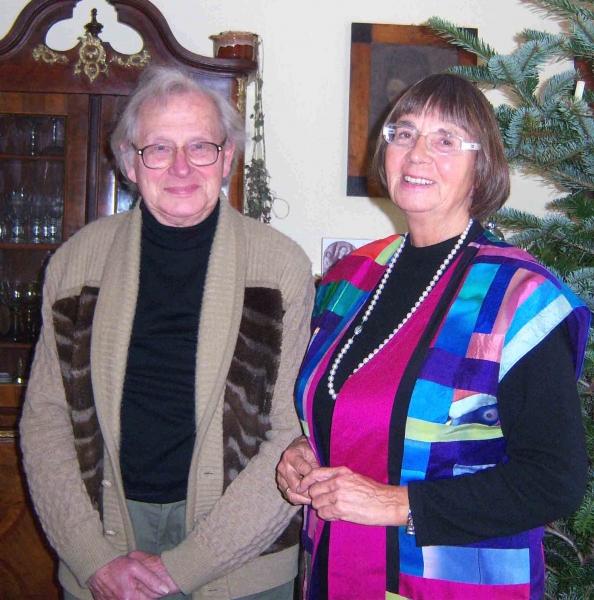 2. Walter Lobenstein und Hella Hahn