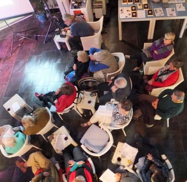 Publikum von oben