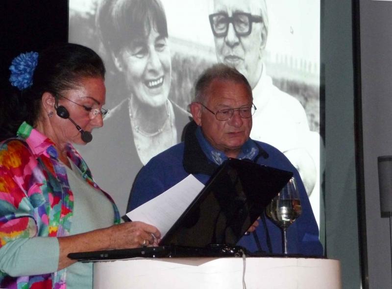 11. Dr.Thomas Arndt, der Maler Arndt Tomás mit seinen Kuenstler-Eltern und Natascha