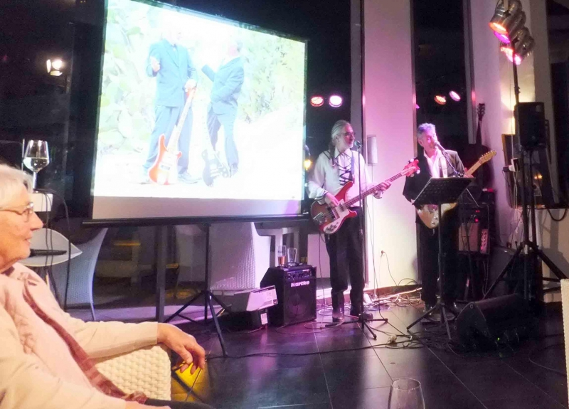 12. Die Johnny Mowton EXPERIENCE mit Gerdi Gerhardt boten tolle Songs