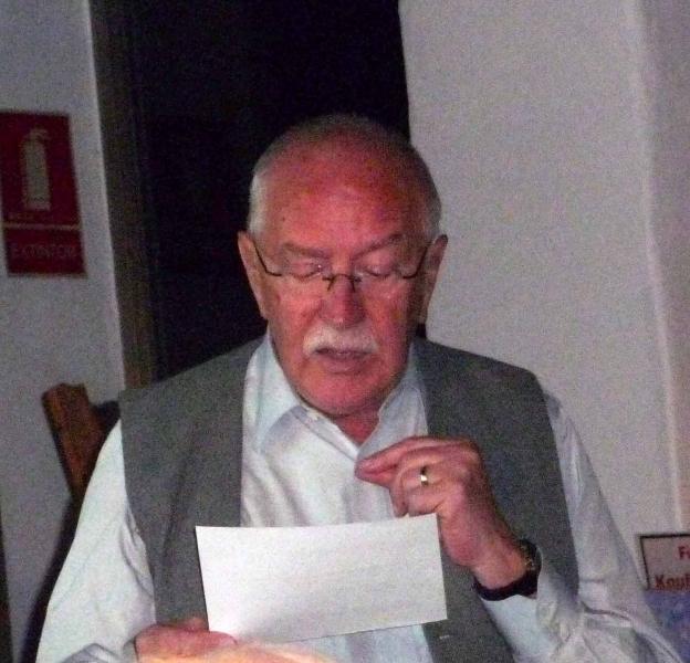 13. Der Dichter Paul Schliemann wie immer große Klasse