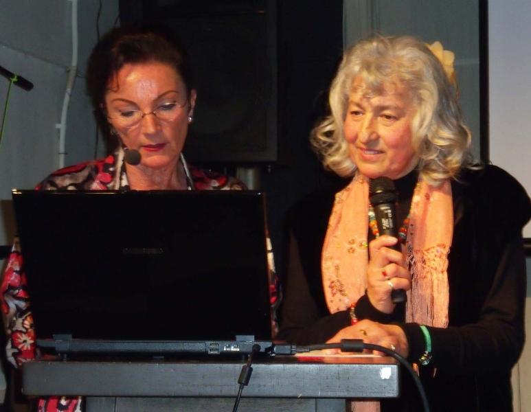 5. re.Malerin Norma Escobar und Natascha