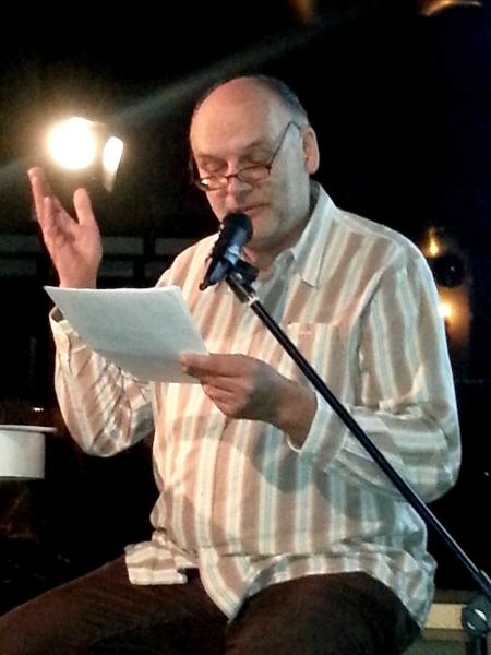 12. Es waren perfekte, wunderbare Vorleser, hier Bernd Christian Supp