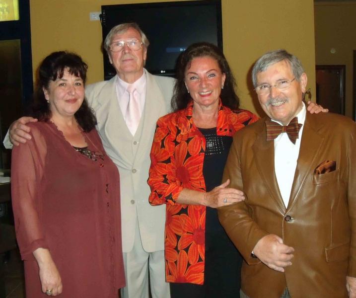 1. Nino, Eberhard, Natascha, Hansjoerg, die Vortragenden