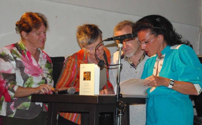2. von links Marijke van Wijk, Tineke, Germain, Natascha, jpg