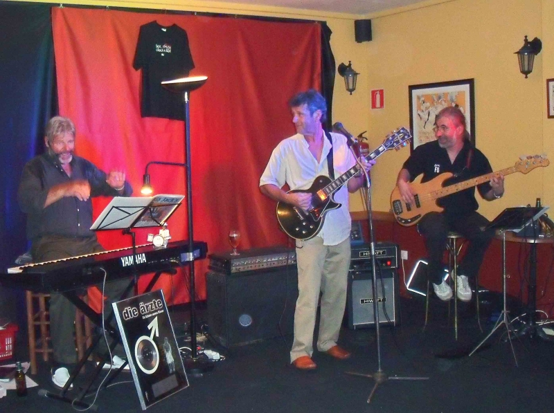 1. von links Hans Hieser, Jonny Mowton, Gerdi Gerhard