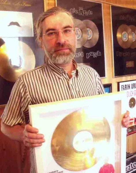 10. Gerdi Gerhardt bekam über 20 Goldene- u. Platin-Schallplatten für seine technische Arbeit