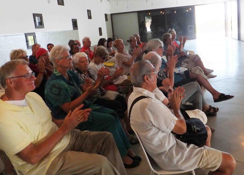 Publikum im Auditorium