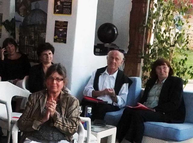 02_ Im Publikum die wartenden Autoren