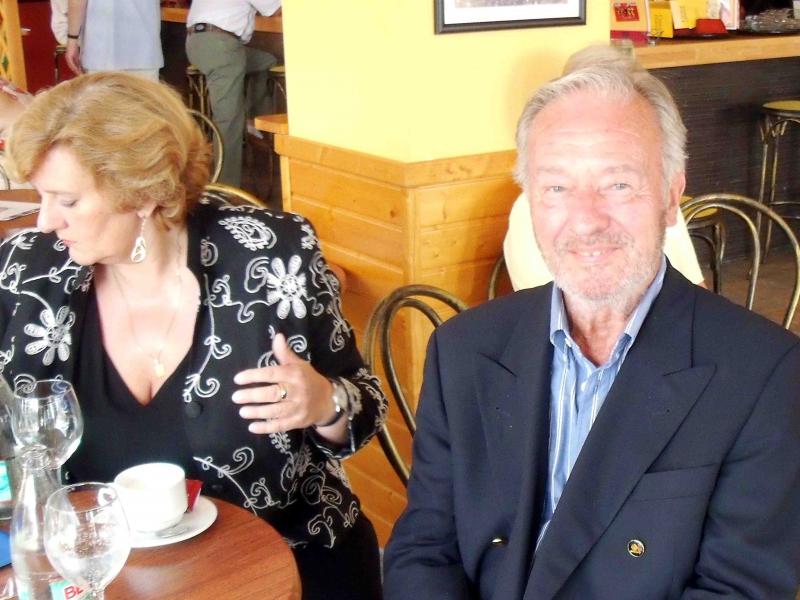 12. Managerin Martina Linn und Horst Naumann