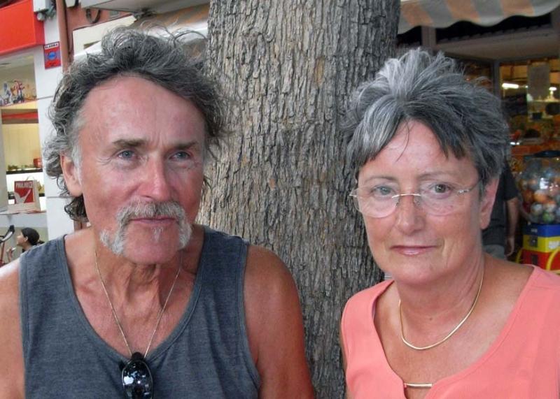 Die Autorin Dagmar Kühl und Kay Bölke