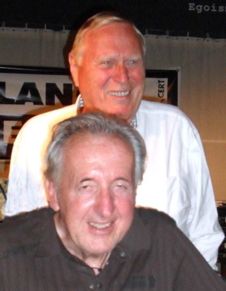Meine G__ste Helmut Tischer und Karl Heinz Brass