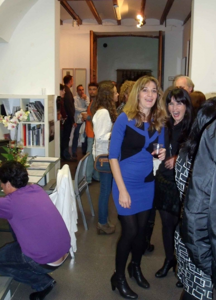 08. Vernissage 12.11.11 Galerie Al Marge Espai d´Art in Javea