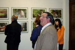 09. Salon mit Serie Kuenstler am Werk, Fotos mit Teo San josé