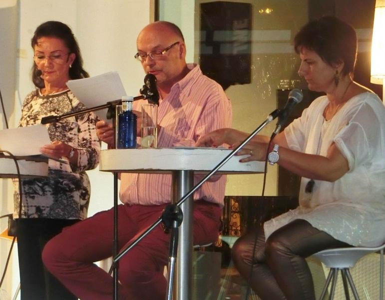 04. von re. Dr. Gabriela Sonnenberg, Bernd-Christian Supp und Natascha