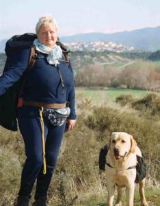 Maria Mohrwind auf dem Jakobsweg
