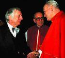 Egino G. Weinert mit Papst