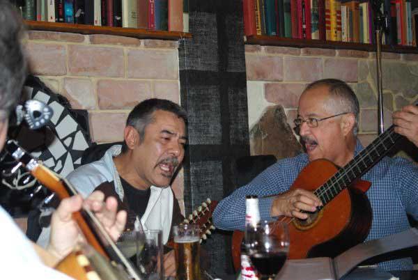 Sechs südamerikanische Musiker