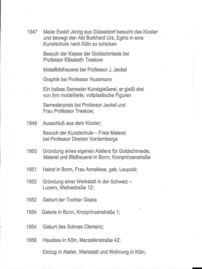 Egino Weinert Curriculum 2