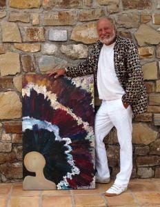 Chris Cosmo der Maler
