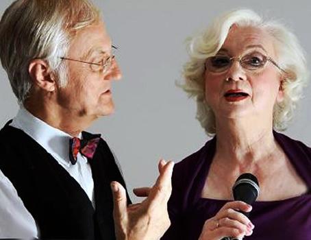 Sylvia Alphéus und Dr. Lothar Jegensdorf