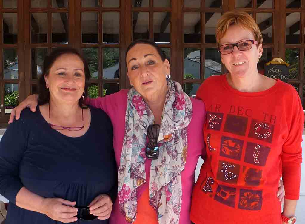 Gerda, Romy, Susann