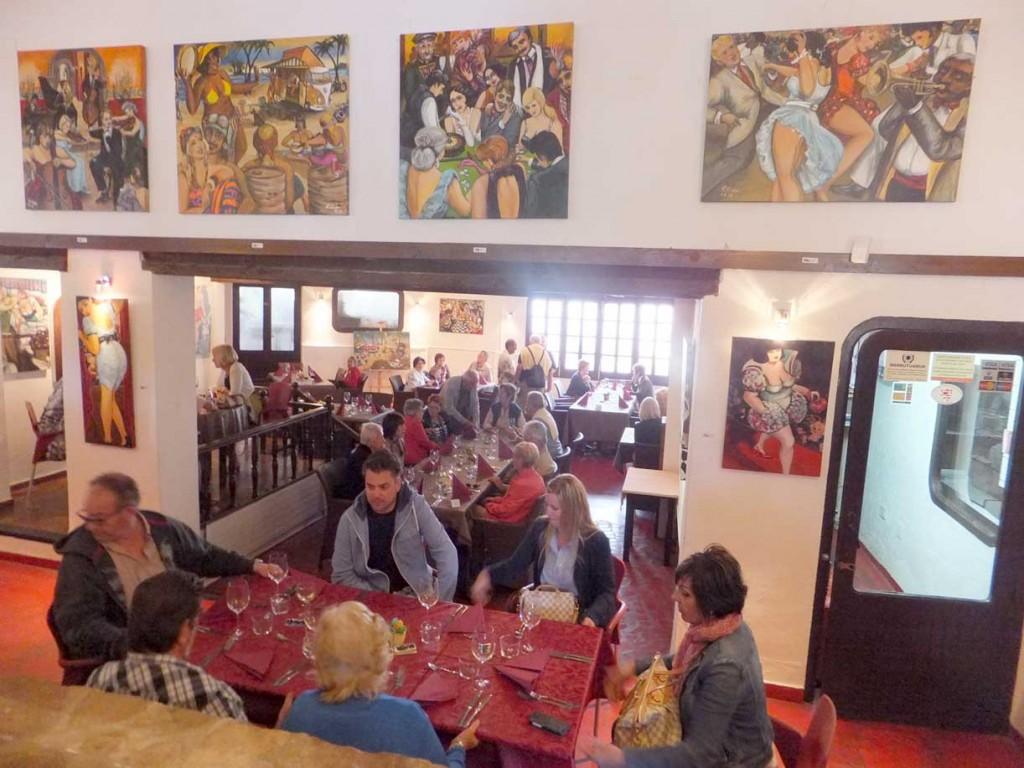 Restaurant La Guardia in Javea,