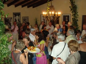 Wein und Tapas Party
