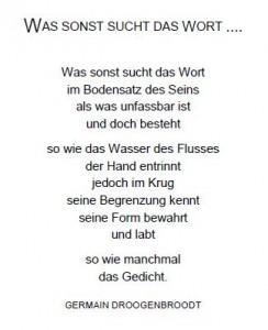 Gedicht für 2. Einladung 2014