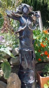 Skulptur vom Winde verweht