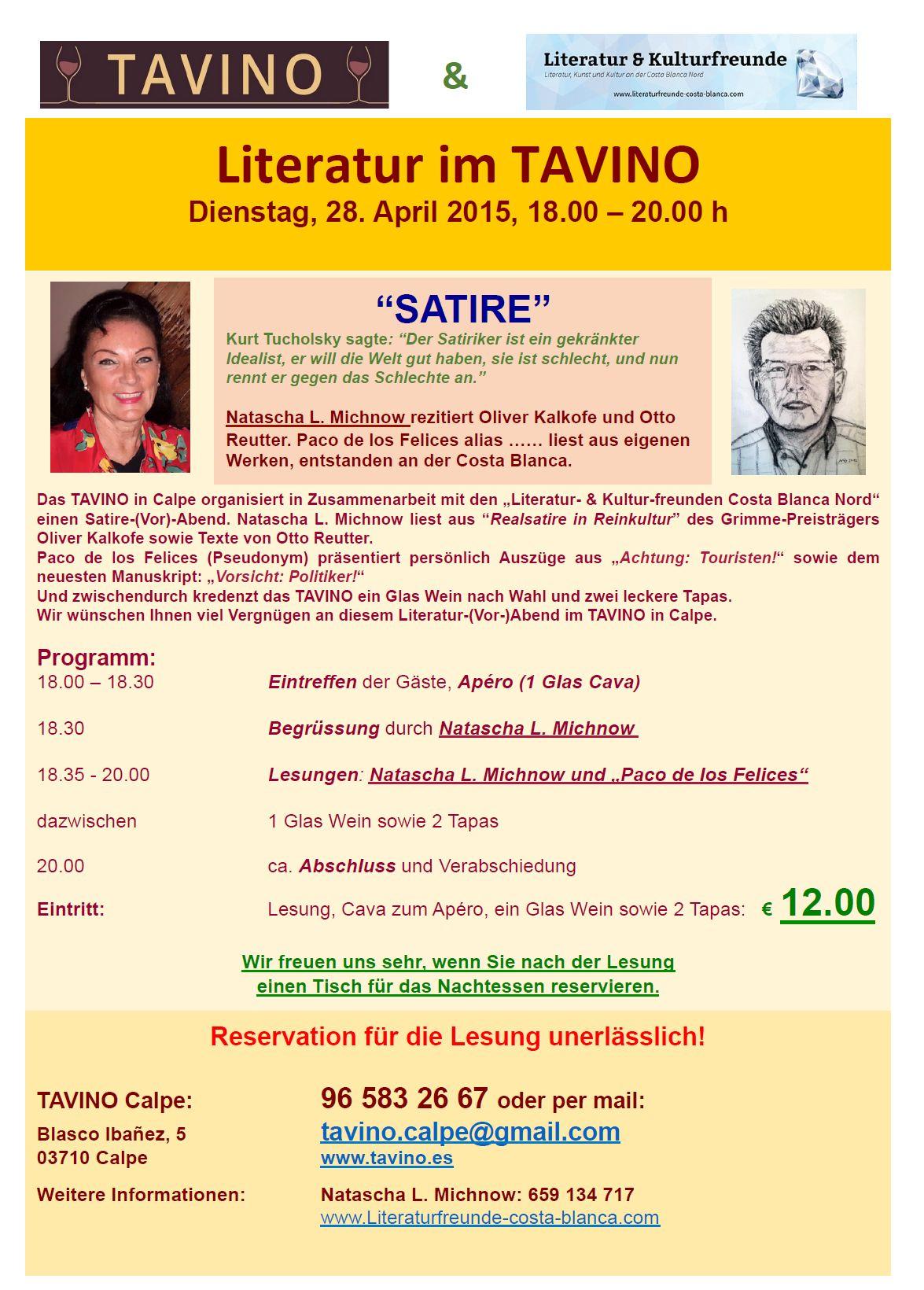 Einladung 28.04.2015