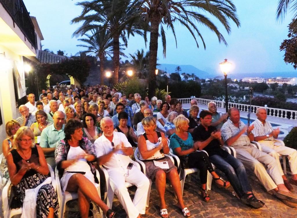 Las Noches Poético-Musicales de Ithaca 2014, Altea, España