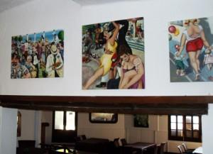 Vintage-Retro-Ausstellung