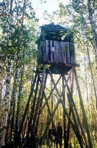 Wachturm eines Gulags