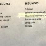 Hauptgerichte 18 €