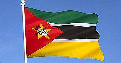 Flagge Mosambiks